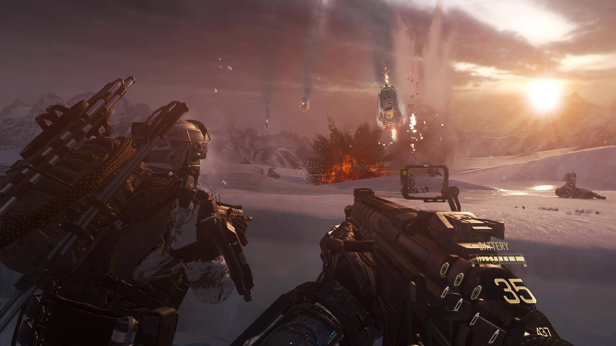 Illustration de l'article sur Ascendance pour Call of Duty: Advanced Warfare arrive