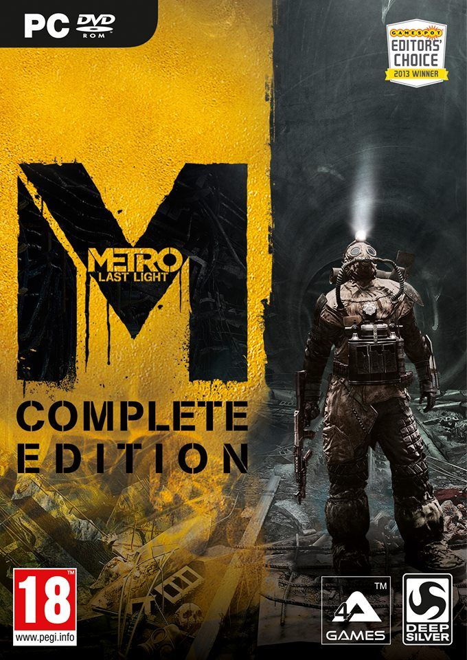 Illustration de l'article sur Metro Last Light Complete Editionest disponible sur PC et PS3