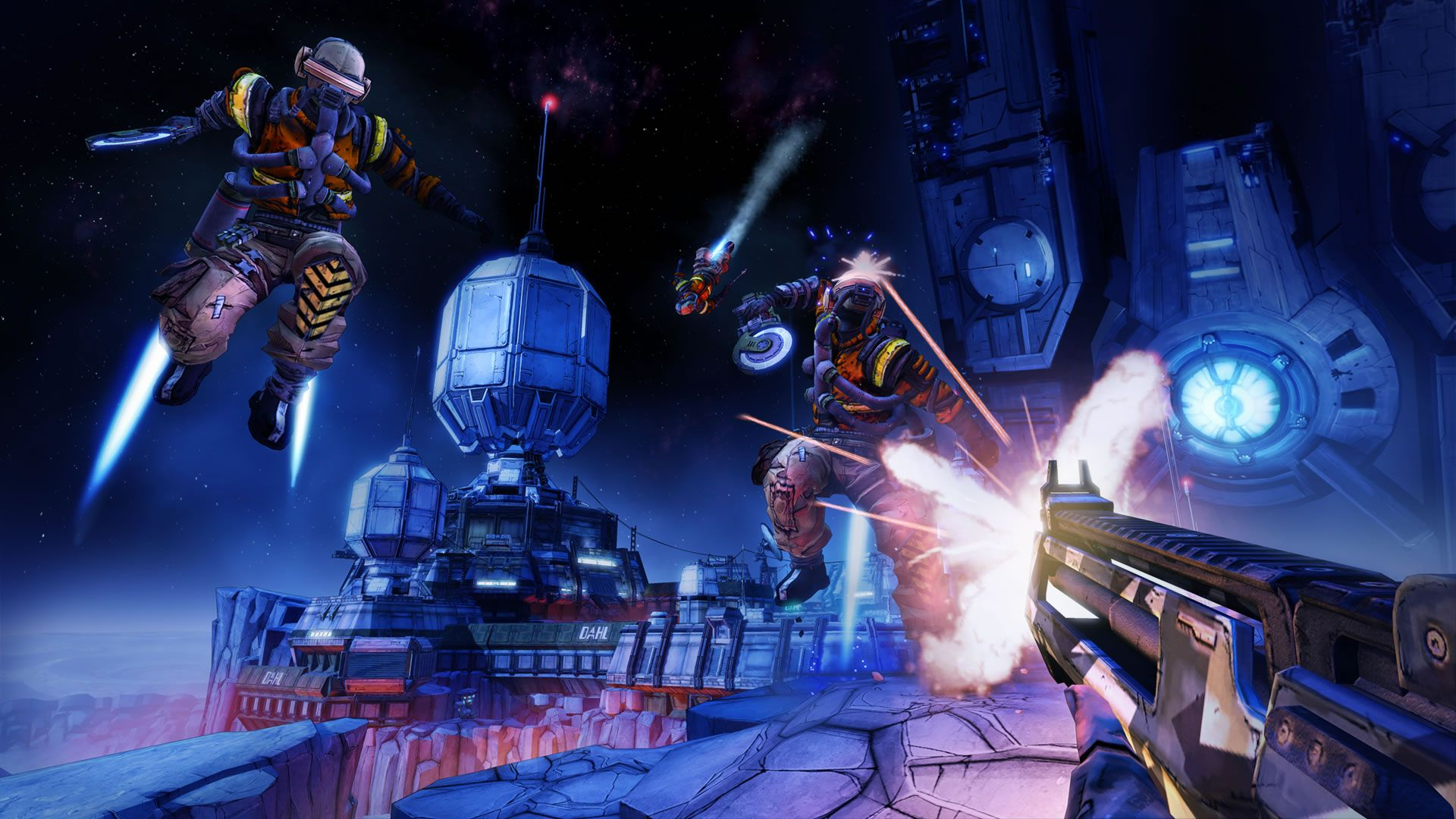 Illustration de l'article sur BORDERLANDS THE PRE-SEQUEL : 1er carnet de développeurs