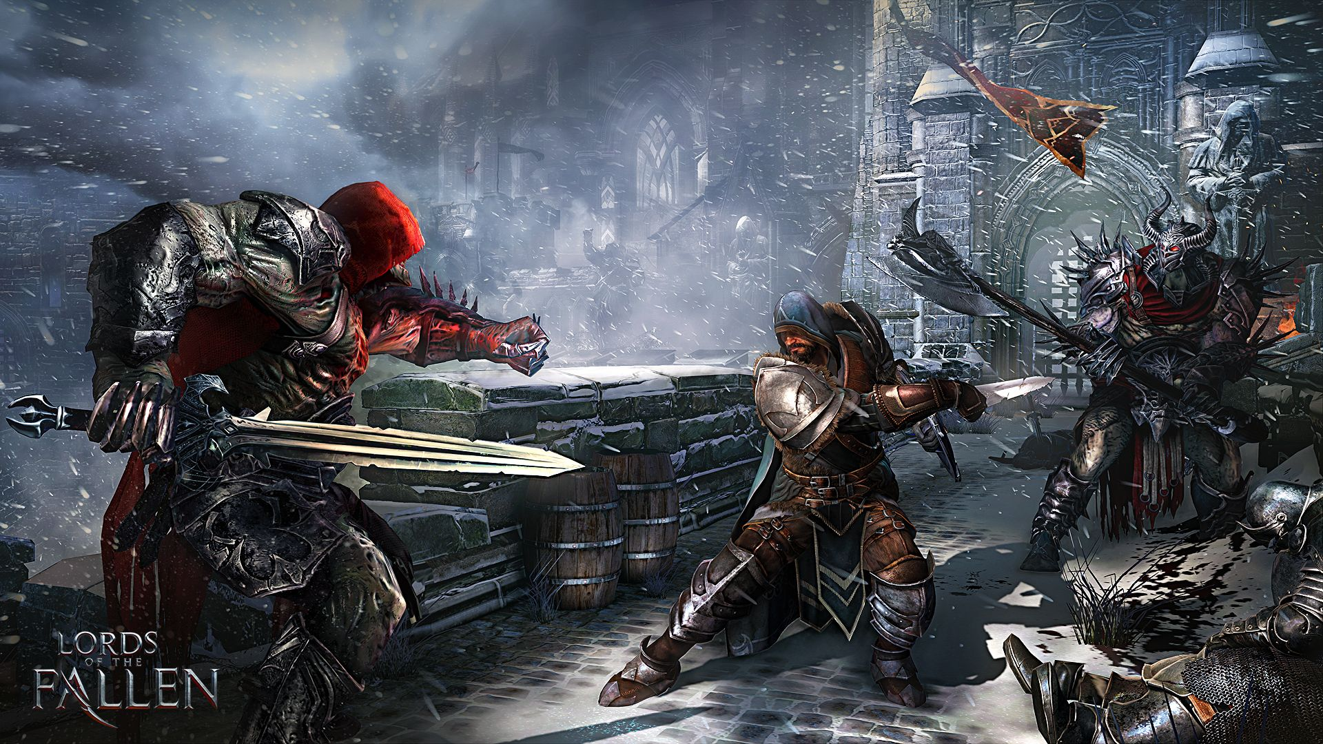 Illustration de l'article sur Nouvelle bande-annonce LORDS of the FALLEN