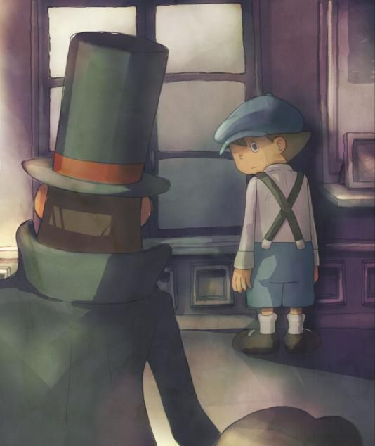 Illustration de l'article sur Professeur Layton et l'Appel du Spectre