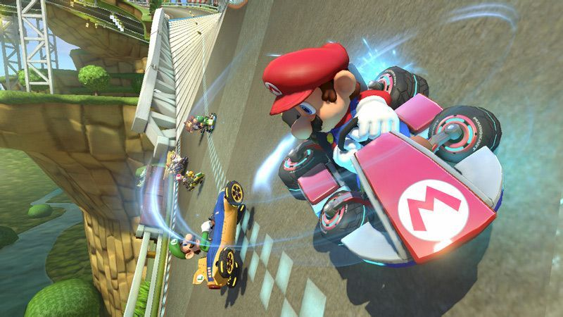 Illustration de l'article sur Mario Kart 8