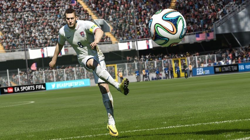 Illustration de l'article sur FIFA 15 jouable sur Xbox One à l'expo Videogame Story