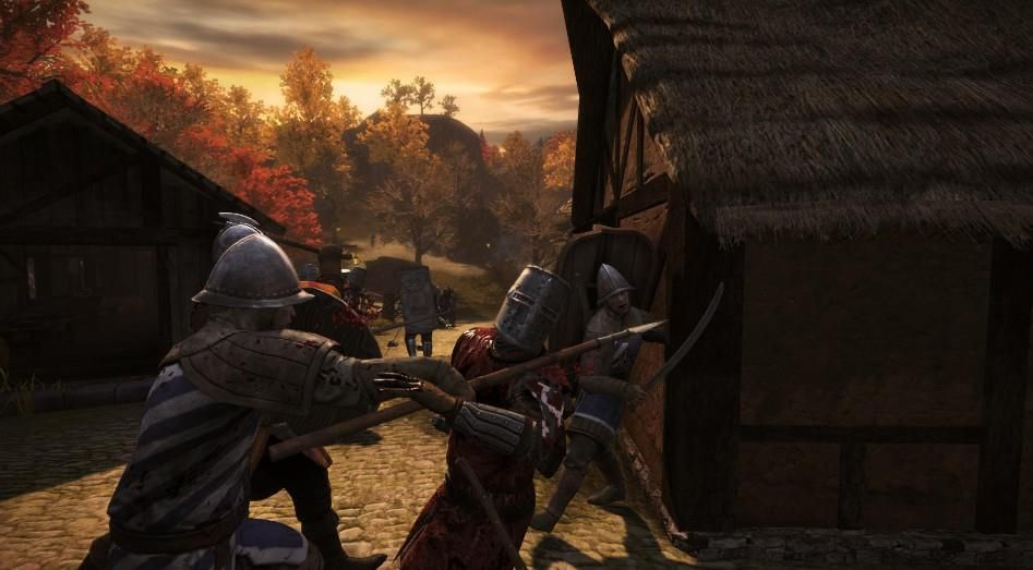 Illustration de l'article sur Chivalry: Medieval Warfare arrive sur console
