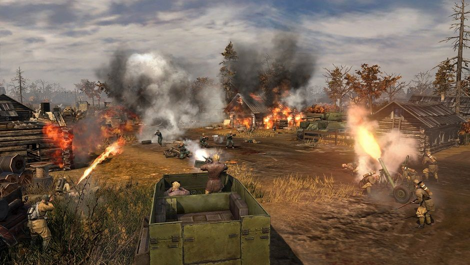 Illustration de l'article sur Company of Heroes 2: Ardennes Assault est disponible sur PC !