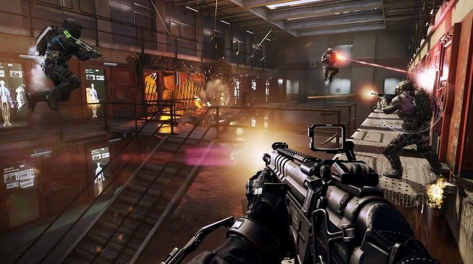 Illustration de l'article sur Call of Duty: Advanced Warfarese renforce avec Exo Zombies