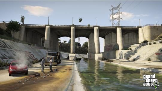 Illustration de l'article sur Grand Theft Auto V   PS4 / Xbox One