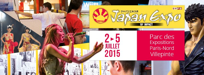 Illustration de l'article sur Japan Expo 16e Impact du 2 au 5 juillet 2015