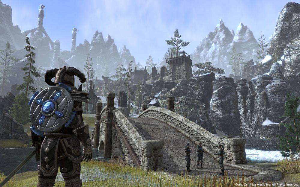 Illustration de l'article sur The Elder Scrolls Online : Tamriel Unlimited