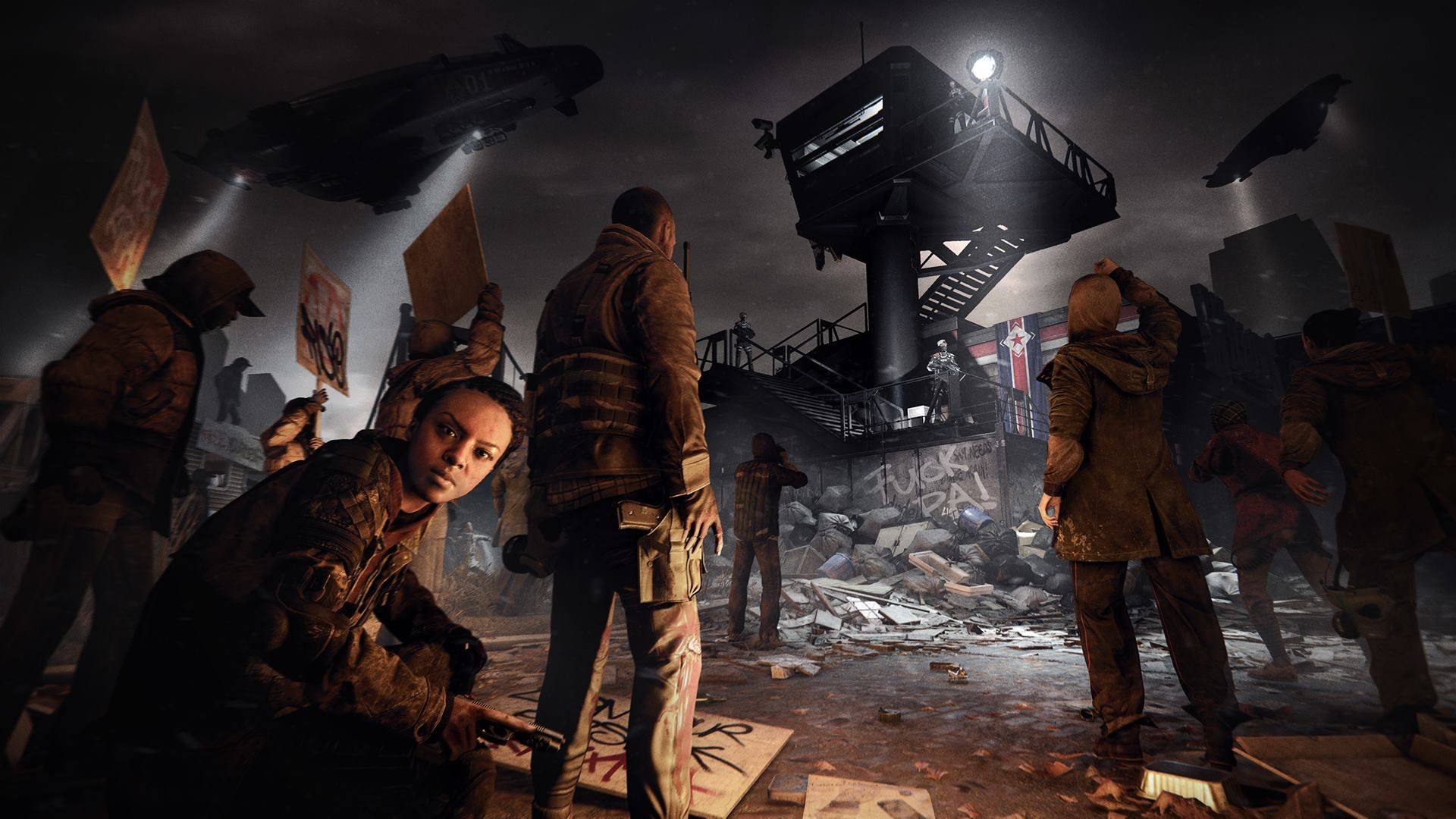 Illustration de l'article sur Homefront: The Revolution Deep Silver dévoile un trailer