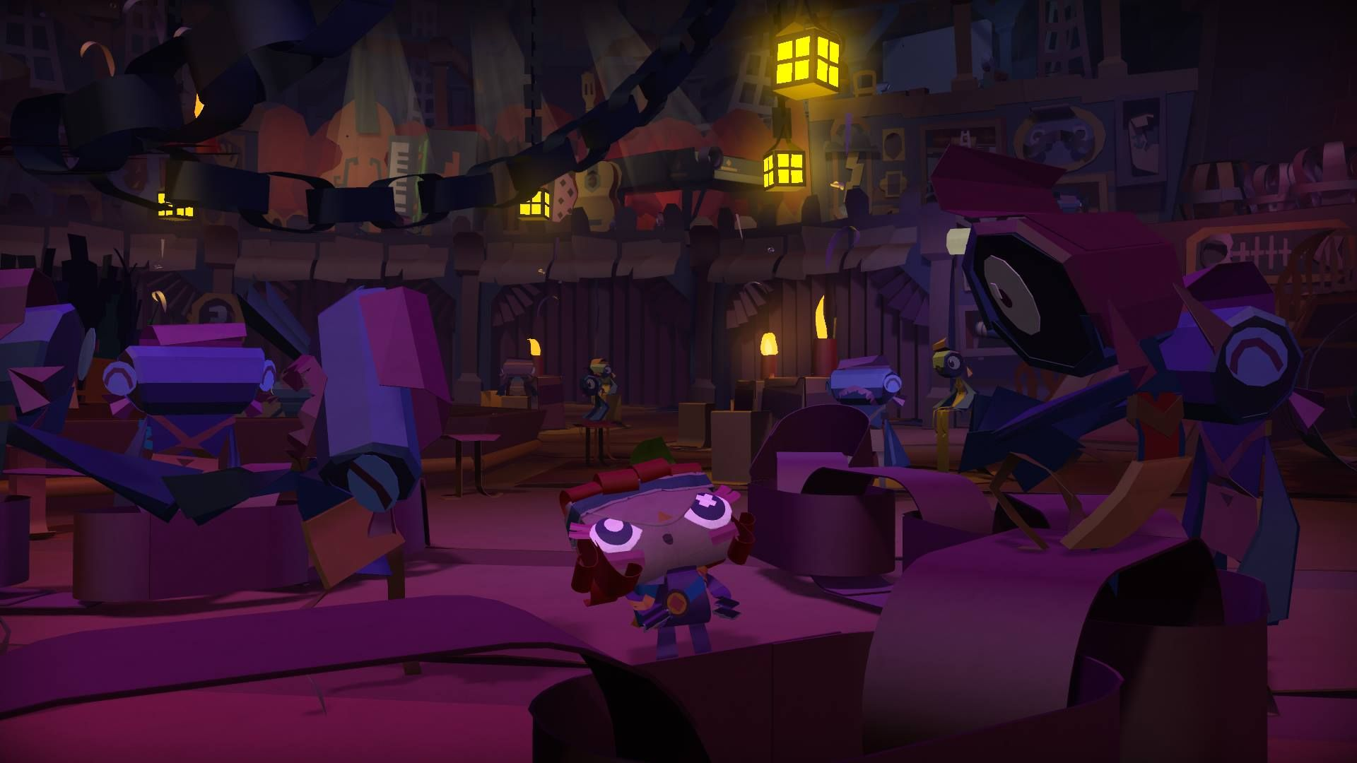 Illustration de l'article sur Tearaway Unfolded