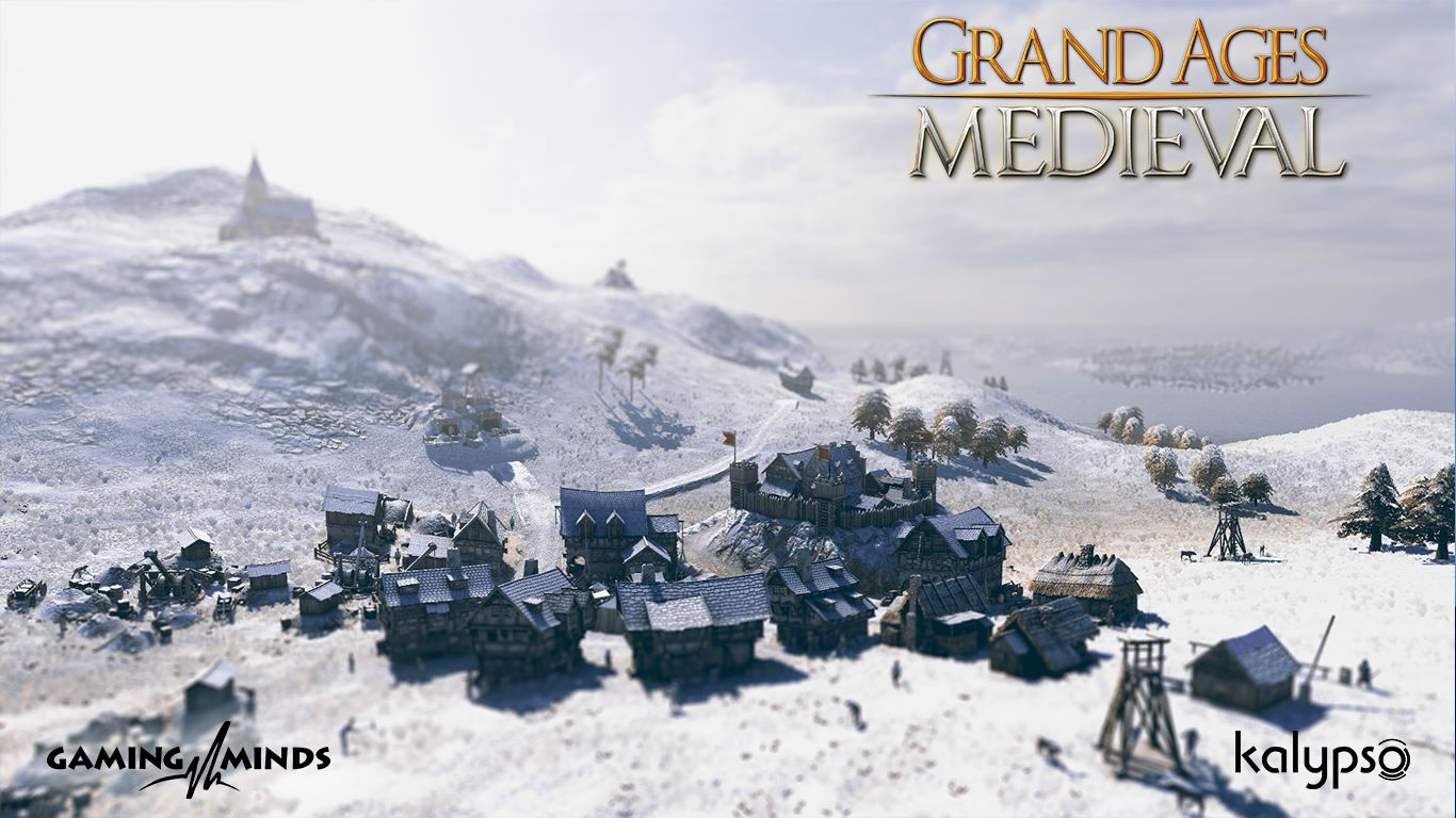 Illustration de l'article sur Grand Ages: Medieval est disponible sur PS4 et PC