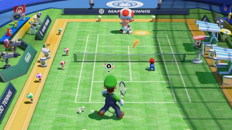 Illustration de l'article sur Mario Tennis Ultra Smash