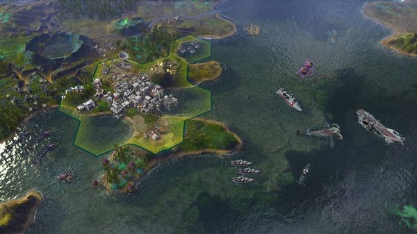 Illustration de l'article sur Sid Meier's Civilization: Beyond Earth - Rising Tide