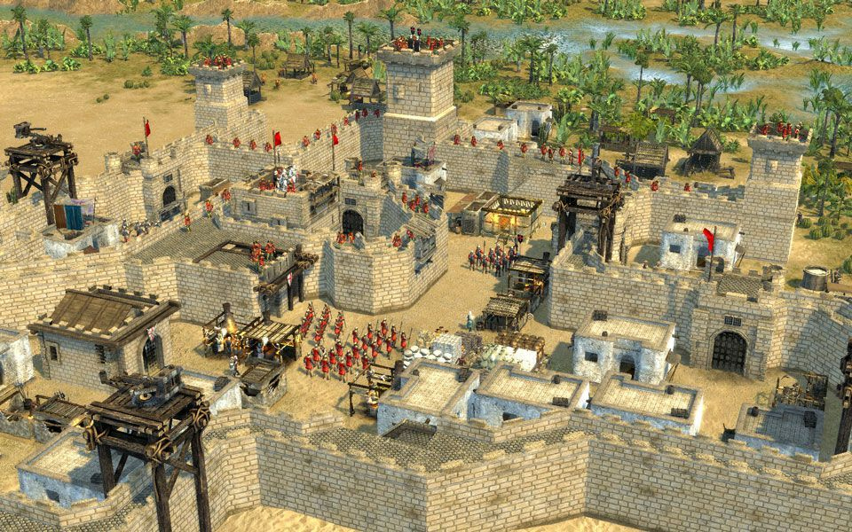 Illustration de l'article sur Stronghold Crusader 2 maintenant au complet