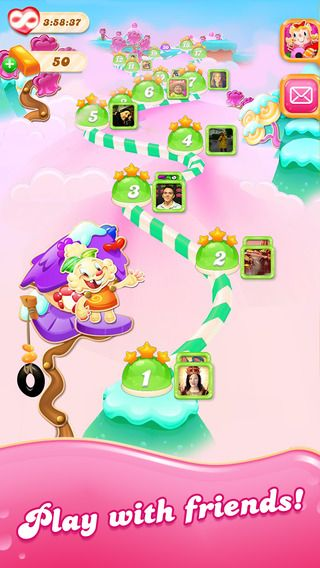 Illustration de l'article sur Candy Crush Jelly Saga maintenant disponible