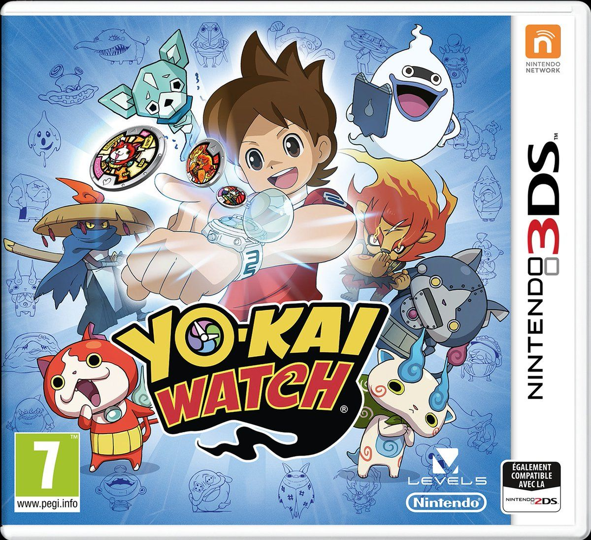 Illustration de l'article sur YO-KAI WATCH arrive sur Nintendo 3DS le 29 avril