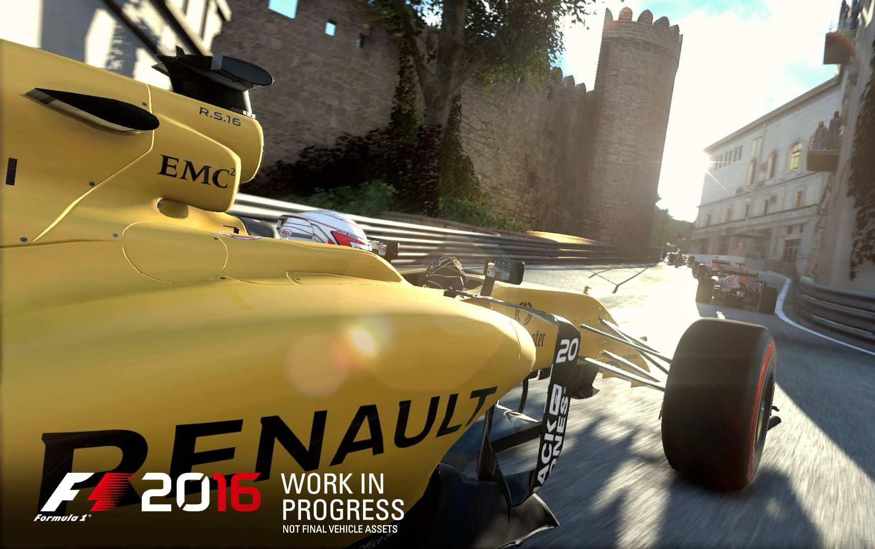 Illustration de l'article sur F1 2016 arrive sur PlayStation4, Xbox One et PC