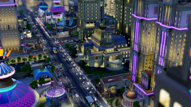 Illustration de l'article sur  SimCity BuildIt se met au vert