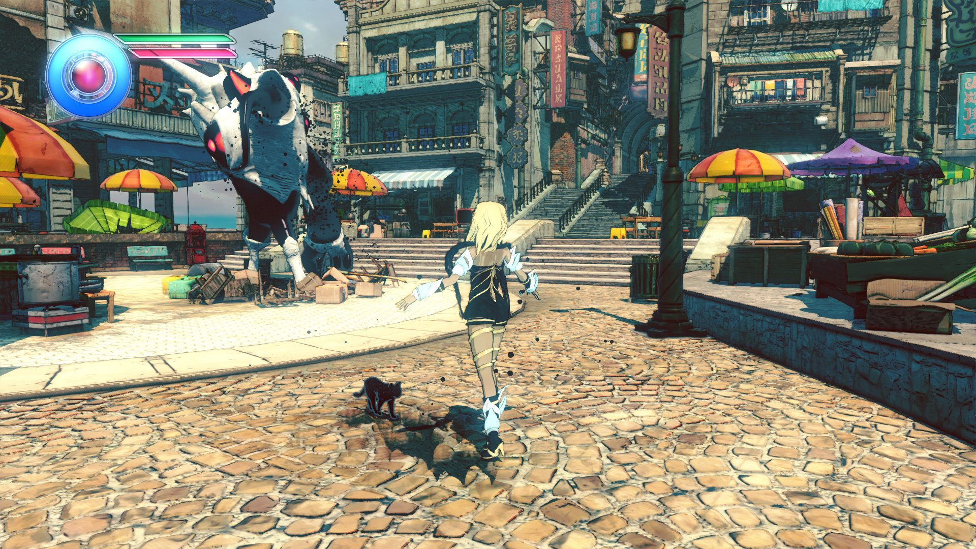 Illustration de l'article sur Gravity Rush 2