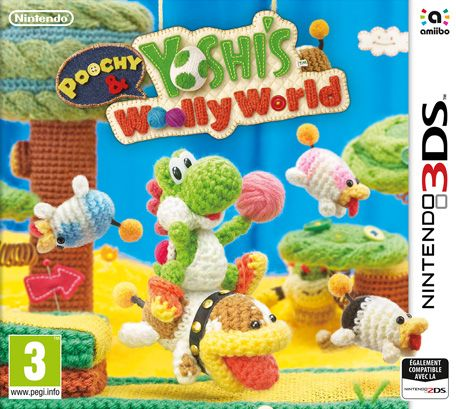 Retrouvez notre TEST :  Poochy and Yoshi's Woolly World - 16/20