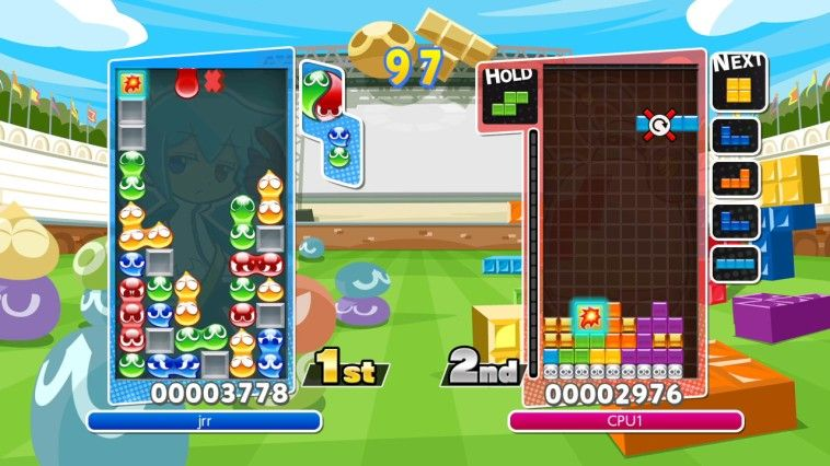 Illustration de l'article sur Puyo Puyo Tetris