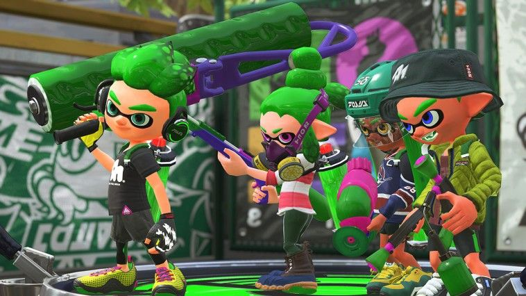 Illustration de l'article sur Splatoon 2