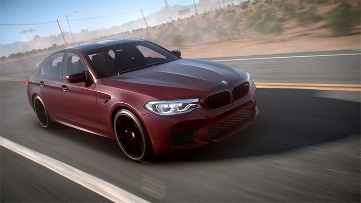 Illustration de l'article sur BMW M5 dans Need for Speed Payback