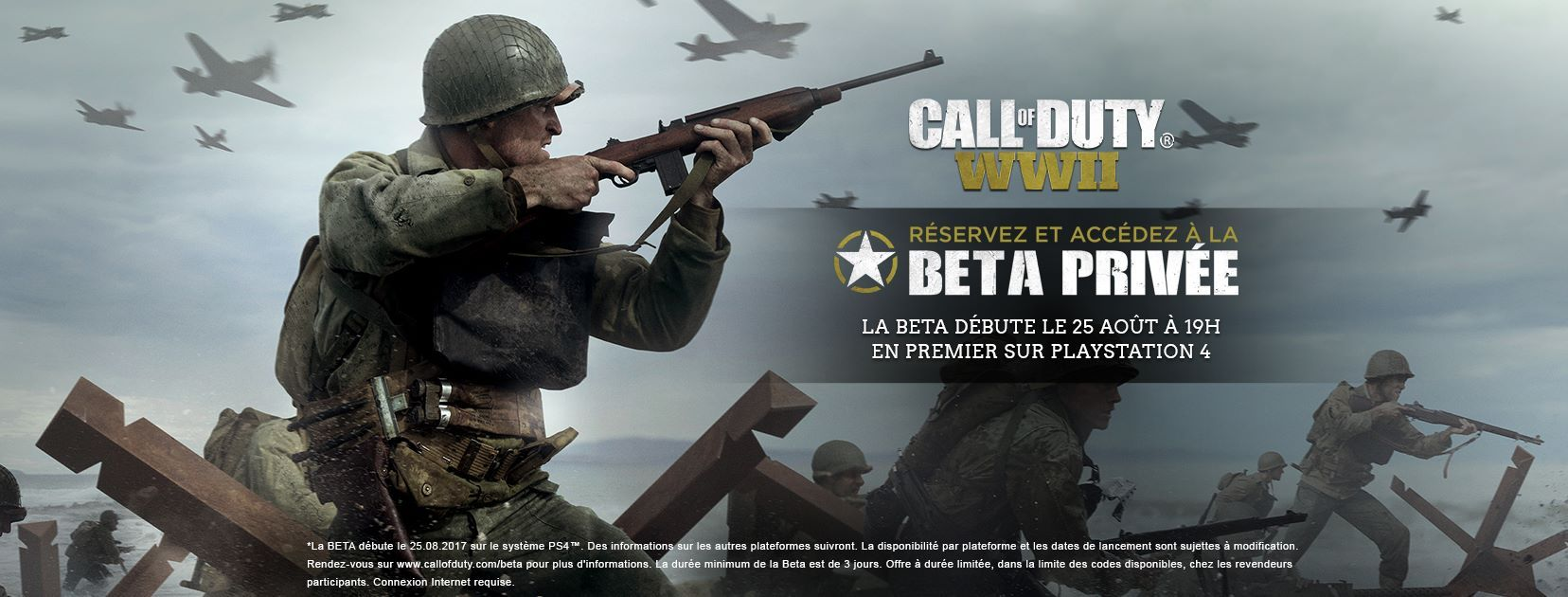 Illustration de l'article sur Call of Duty WWII — J-3 avant la BETA PS4