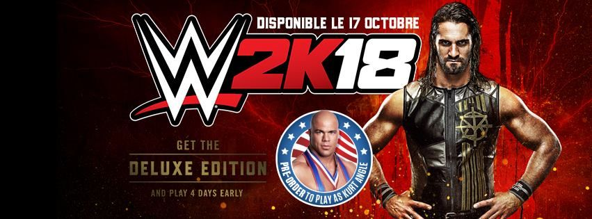 Illustration de l'article sur 2K - WWE 2K18 - 37 nouvelles WWE Superstars