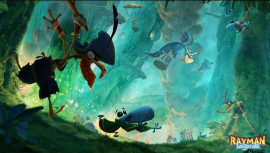 Illustration de l'article sur Rayman Legends: Definitive Edition