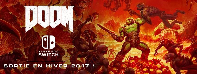 Illustration de l'article sur DOOM sera disponible sur Switch le vendredi 10 novembre