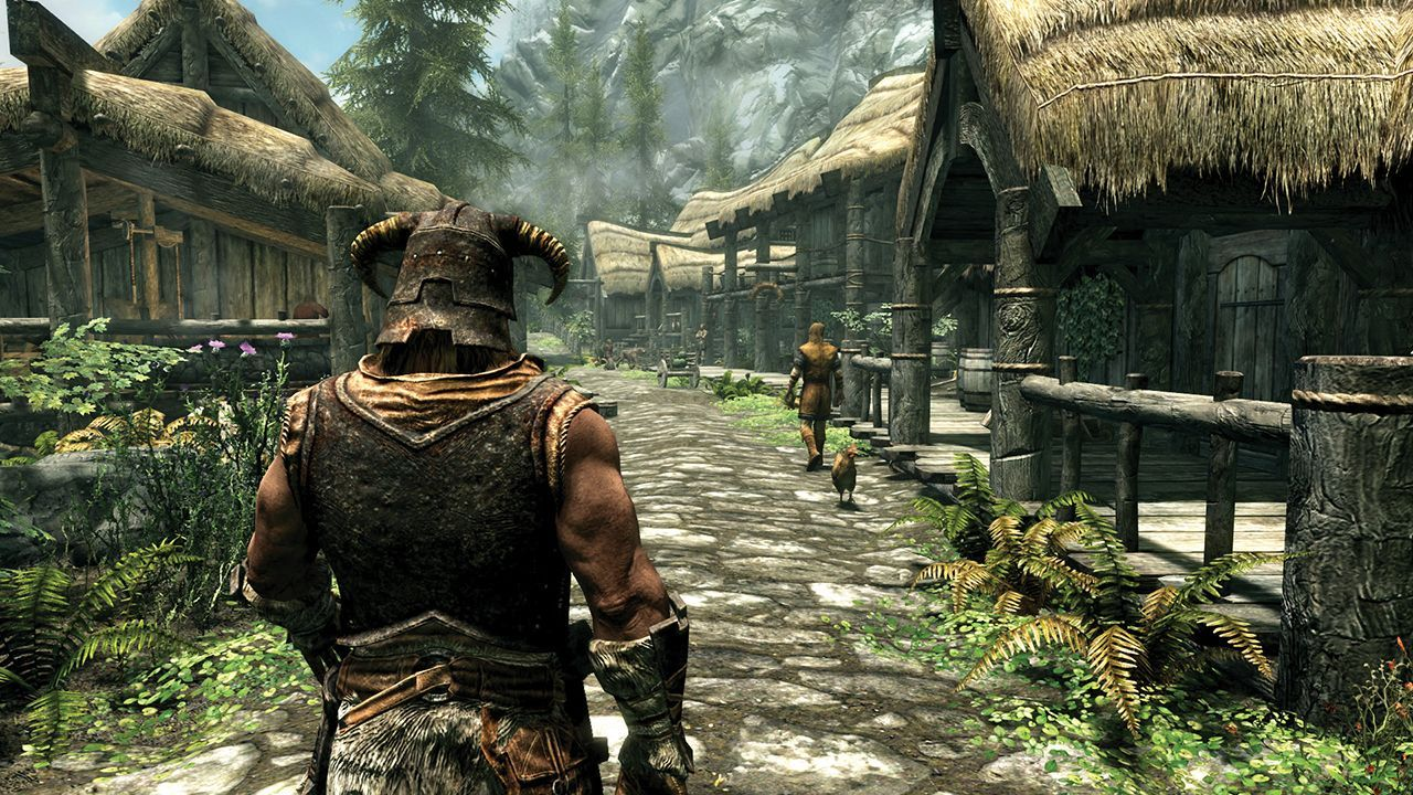 Illustration de l'article sur The Elder Scrolls V Skyrim - Swtich