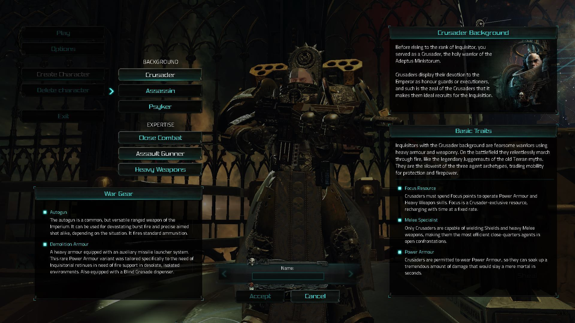 Illustration de l'article sur Warhammer 40,000 Inquisitor Martyr - Vidéo d'introduction