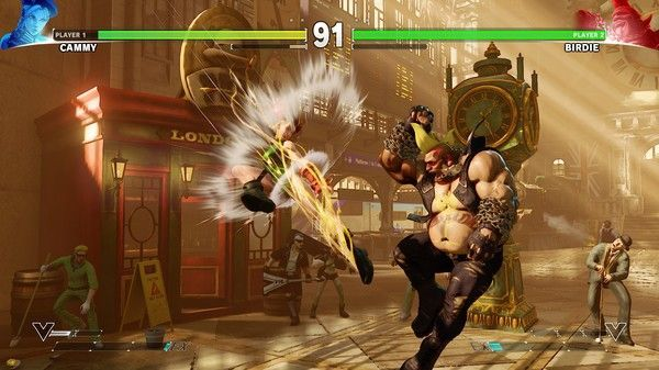 Illustration de l'article sur Street Fighter V: Arcade Edition est disponible