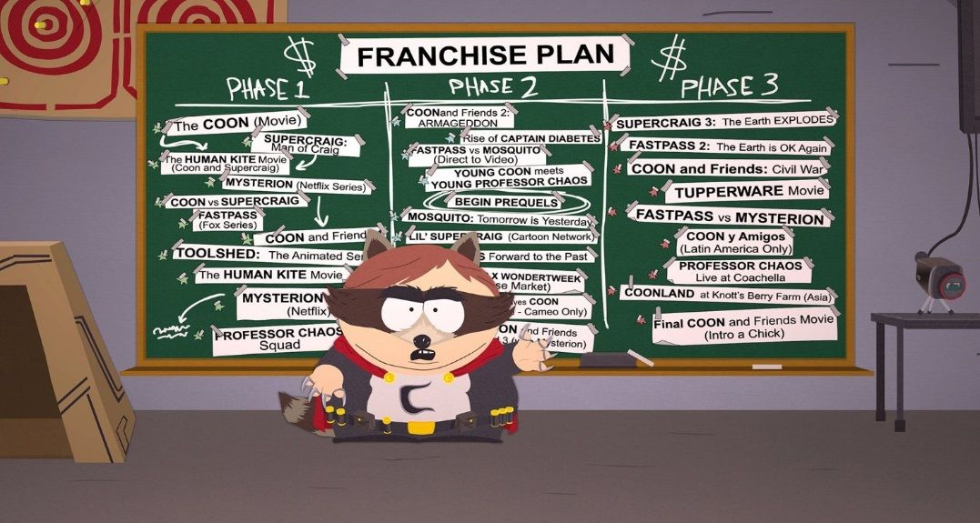 Illustration de l'article sur South Park : L'Annale du Destin | Switch