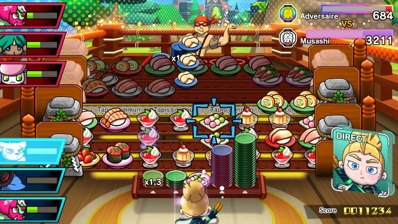 Illustration de l'article sur Sushi Striker : The Way of Sushido