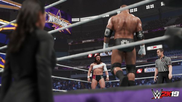 Illustration de l'article sur WWE 2K19 est disponible