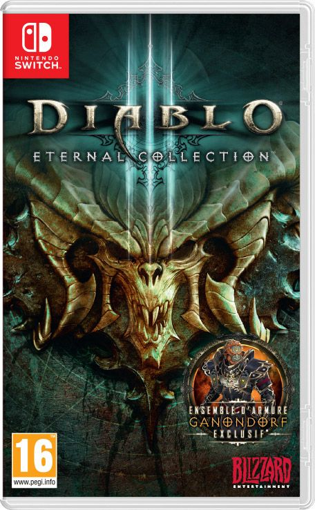 Retrouvez notre TEST :  Diablo III Eternal Collection - Switch
