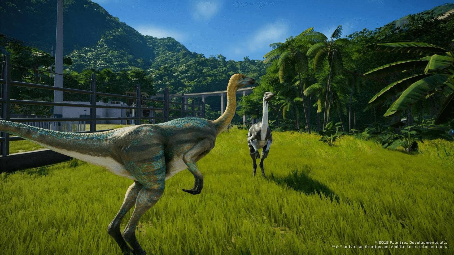 Illustration de l'article sur Jurassic World Evolution :de nouveaux dinosaures