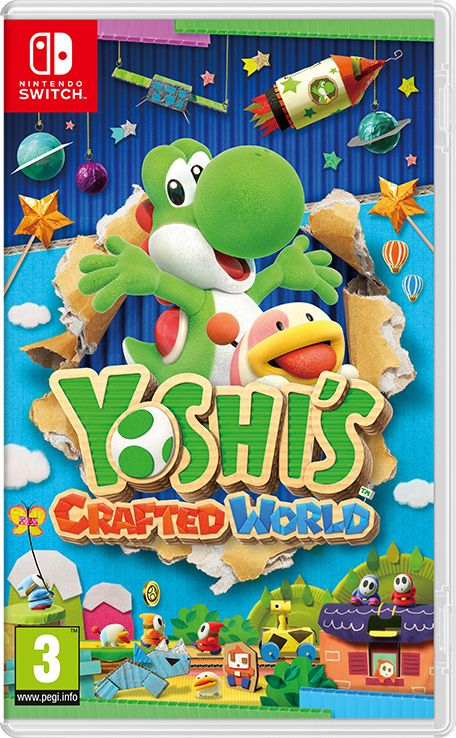 Retrouvez notre TEST : Yoshi s Crafted World