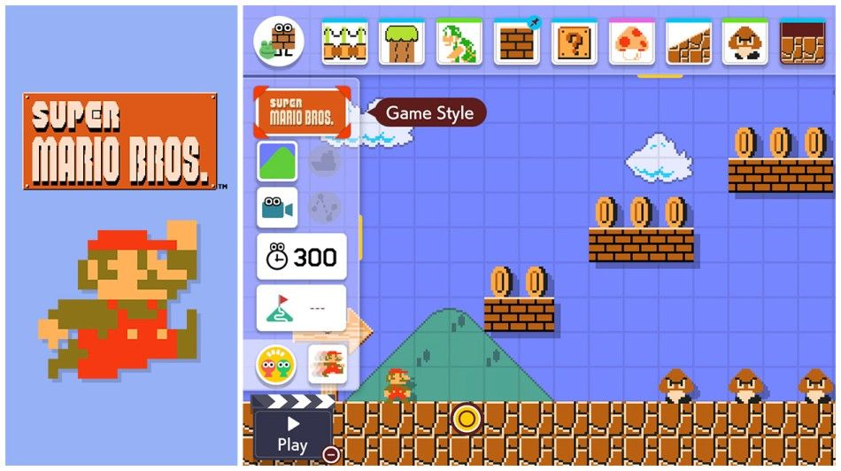 Illustration de l'article sur Super Mario Maker 2