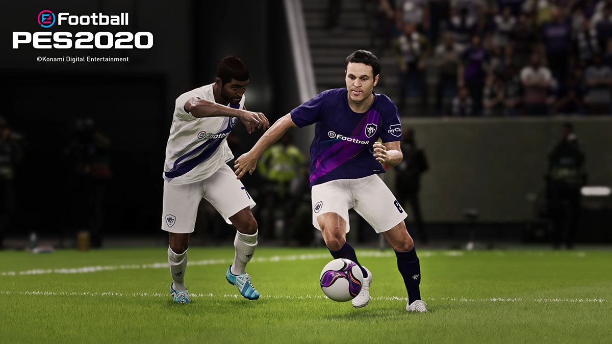 Illustration de l'article sur La démo d'eFootballPES 2020 est disponible