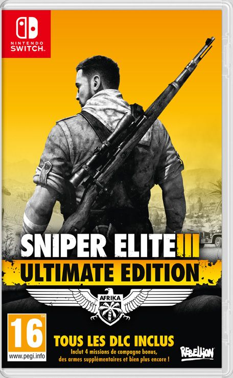 Retrouvez notre TEST :  Sniper Elite 3 Ultimate Edition - Nintendo Switch