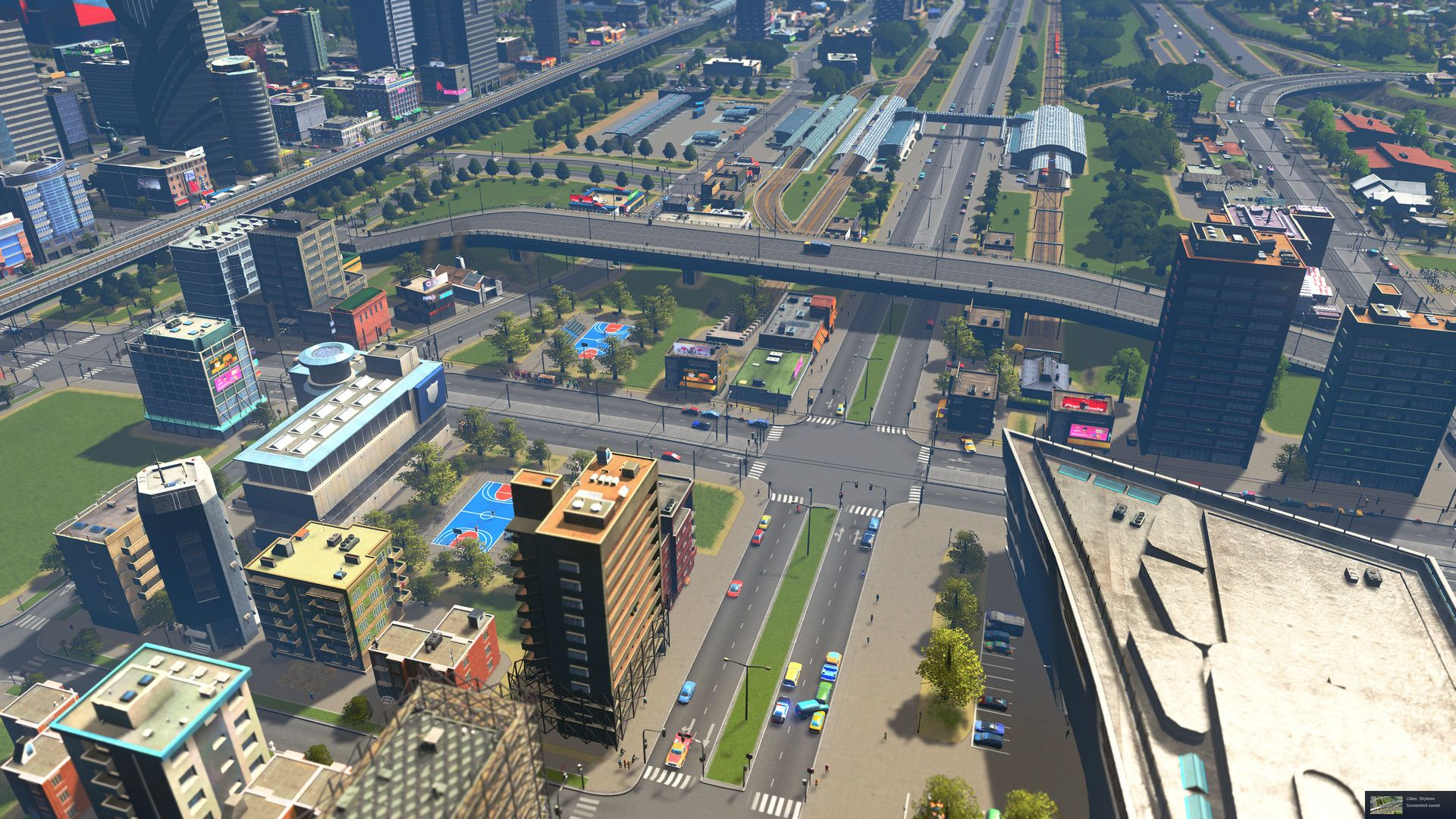 Illustration de l'article sur Cities : Skylines Sunset Harbor