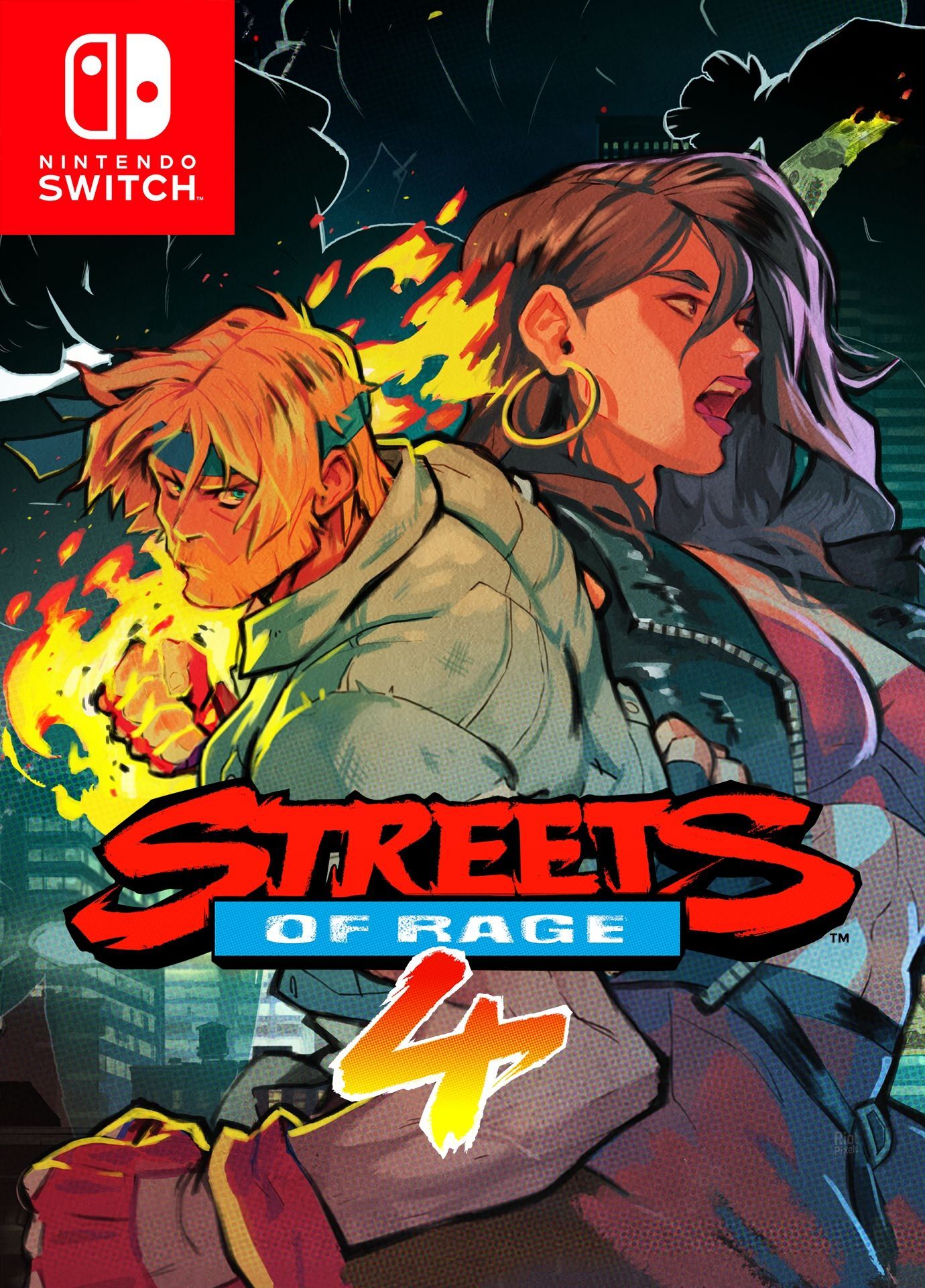 Retrouvez notre TEST :  Streets of Rage 4 - PC PS4 Xbox ONE Switch
