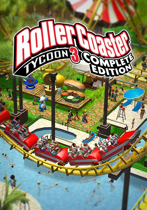 Retrouvez notre TEST : RollerCoaster Tycoon 3 Complete Edition - PC Switch
