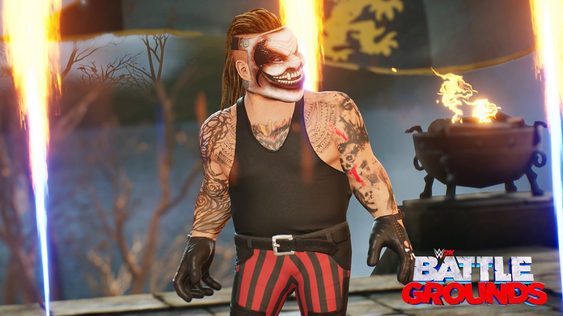 Illustration de l'article sur WWE 2K Battlegrounds