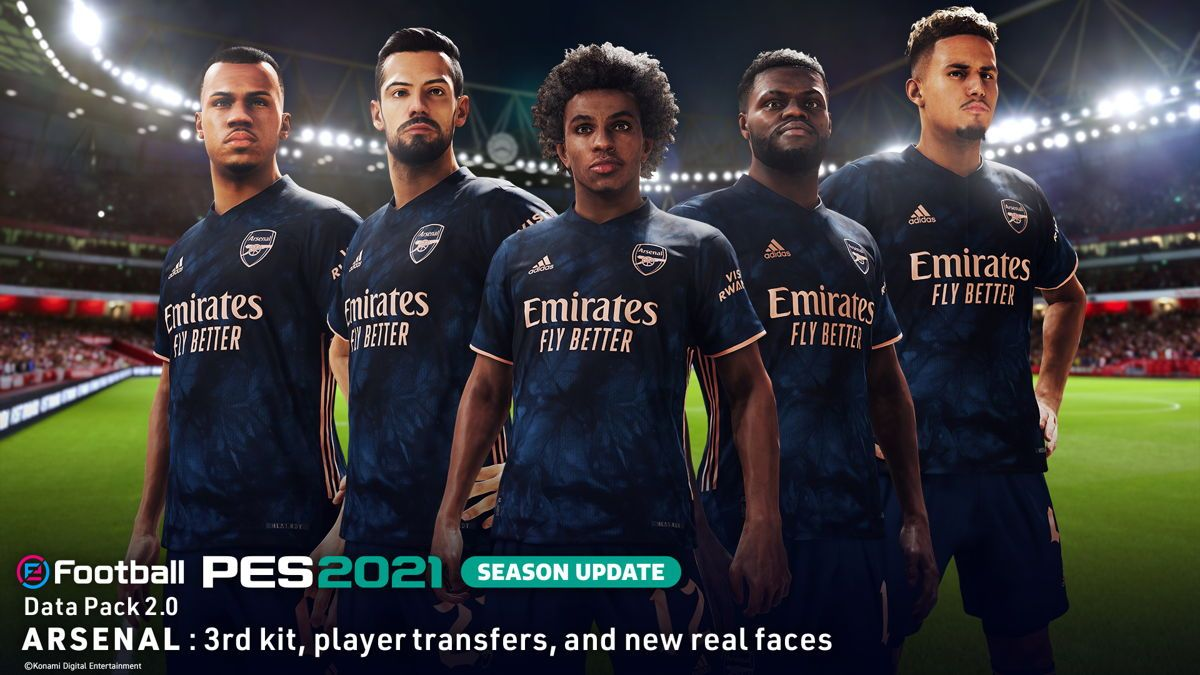 Illustration de l'article sur eFootball PES 2021 SEASON UPDATE Data Pack 2.0