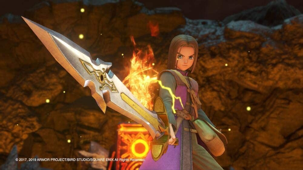 Illustration de l'article sur Dragon Quest XI S :Les Combattants de la destinée